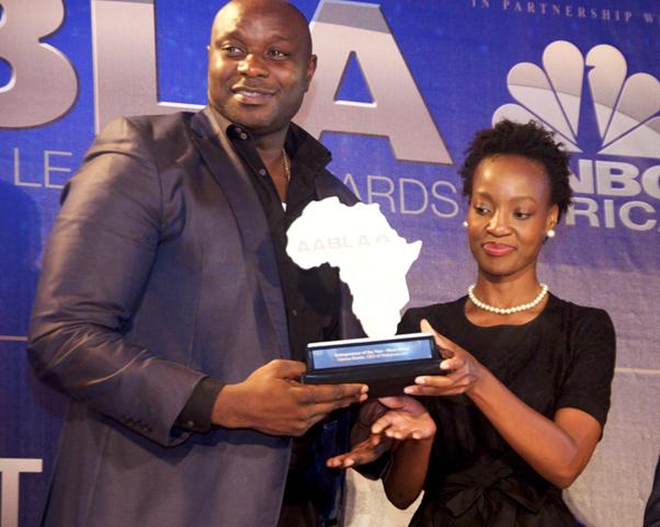Obinna Ekezie, Wakanow MD, Wins Entrepreneur Of the Year Award For 2015