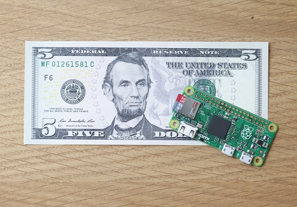 At $5, the Raspberry Pi Zero is the world's cheapest computer