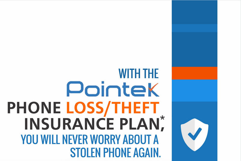 With Pointek's phone theft Insurance, you will never worry about a stolen phone again