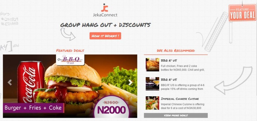 JekaConnect Wants You to Hangout With Friends and Enjoy Discounts