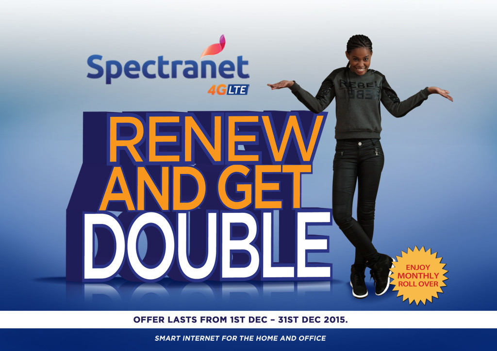 Spectranet reward subscribers with Double Data