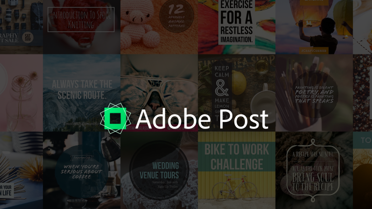 Adobe Joins the Graphic Design Democracy Movement with Adobe Post