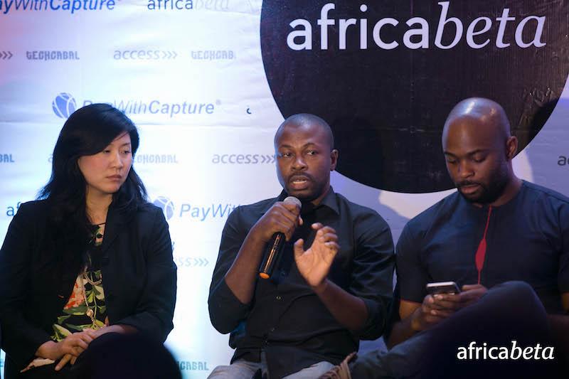Panelists L-R: Joyce Kim, (Stellar.org), Ope Adeoye (Interswitch), JR Kanu (KongaPay).