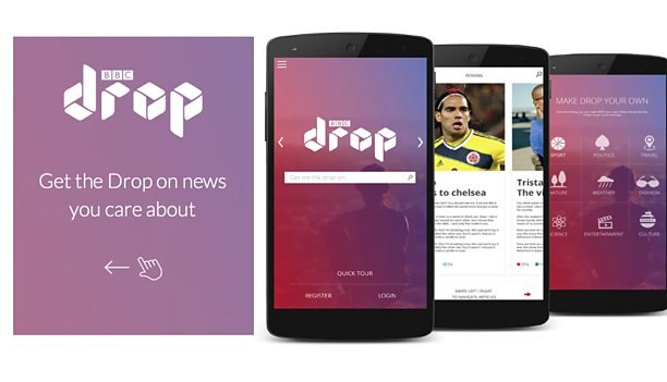 BBC partners with Ongair to launch Drop, a news app built around your preferences