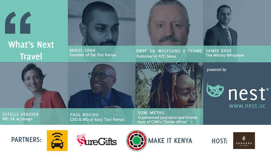 Nest Nairobi's next panel discussion will focus on technology and travel