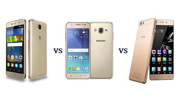 Huawei G-Power vs Samsung Galaxy J5 vs Gionee Marathon M5