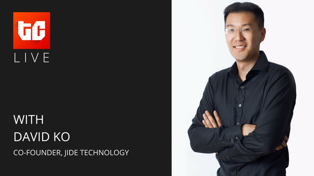 Today's TechCabal Live broadcast is with Jide Technology's David Ko