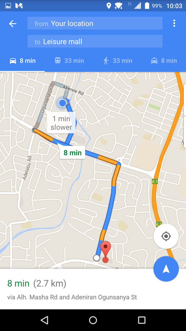 You can now hail an Uber in Nigeria from within Google Maps TechCabal
