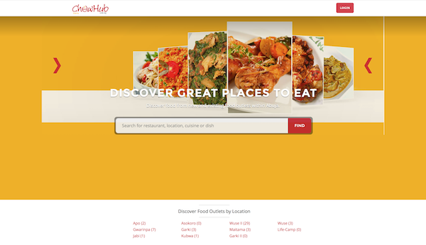 If you live in Abuja, Chowhub can help you find restaurants