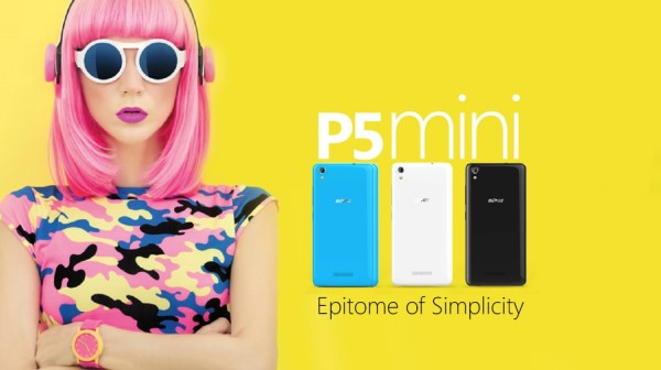 All of style and colours: introducing the Gionee P5 mini