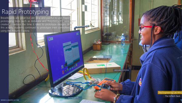 The Ed Tech Hack: Student prototyping on a Arduino Esplora and Raspberry Pi