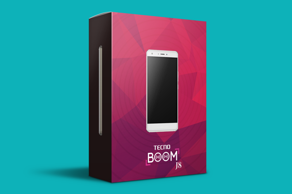 Someone redesigned the packaging for TECNO's Boom J8, and we think it's awesome