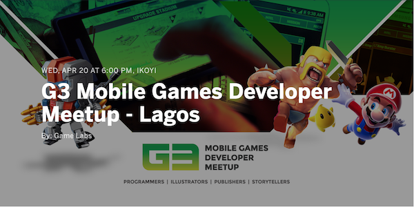 Game Labs is hosting G3, a mobile game developer meetup on April 20