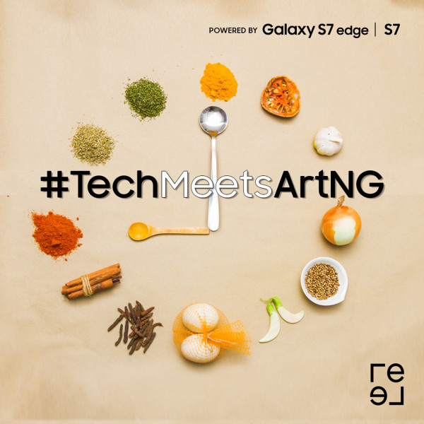 Participate in #TechMeetsArtNG, the food edition