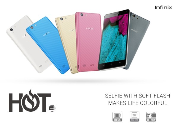 Infinix HOT 3 Press annoucement
