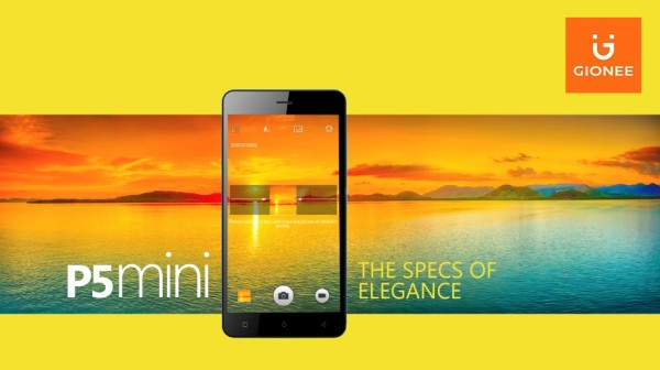 Gionee P5 mini: the specs of elegance