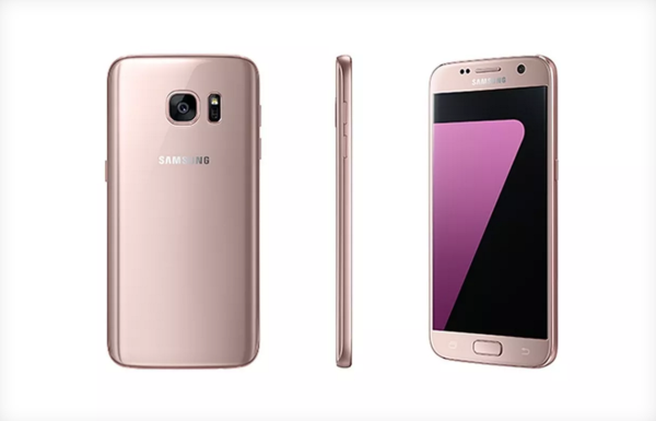 "Samsung has just announced a ""pink gold"" version of their Galaxy S7 and S7 Edge flagships"