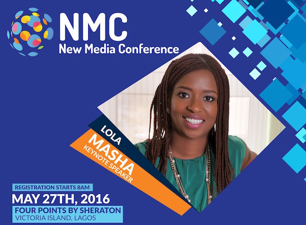 The 2016 New Media Conference is happening in Lagos this month