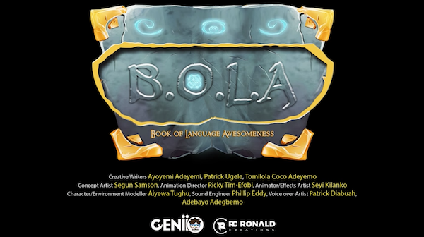 Genii Games' B.O.L.A Trailer is now live