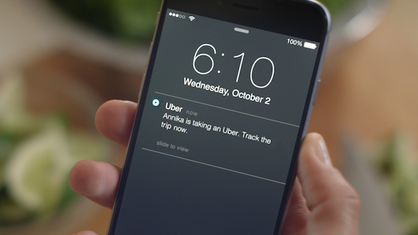 Uber now lets you track other people's trips in real-time