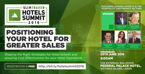 SlimTrader to Host Business Empowerment Forum for Hoteliers