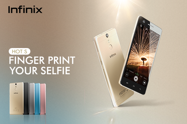 Introducing Infinix mobility's First finger print scanner smartphone 'Infinix HOT S'