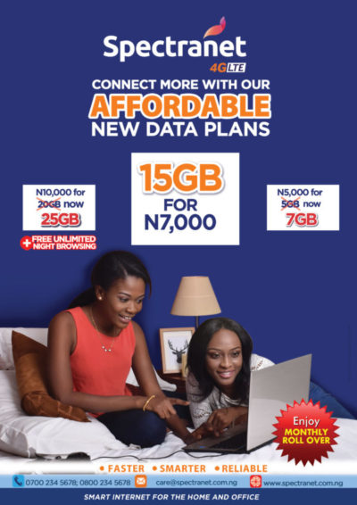 Spectranet Re-introduces N7, 000 Data Plan