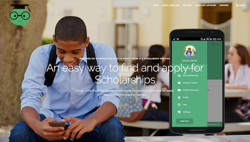 ScholarX is a matchmaker between Nigerian students and Scholarships