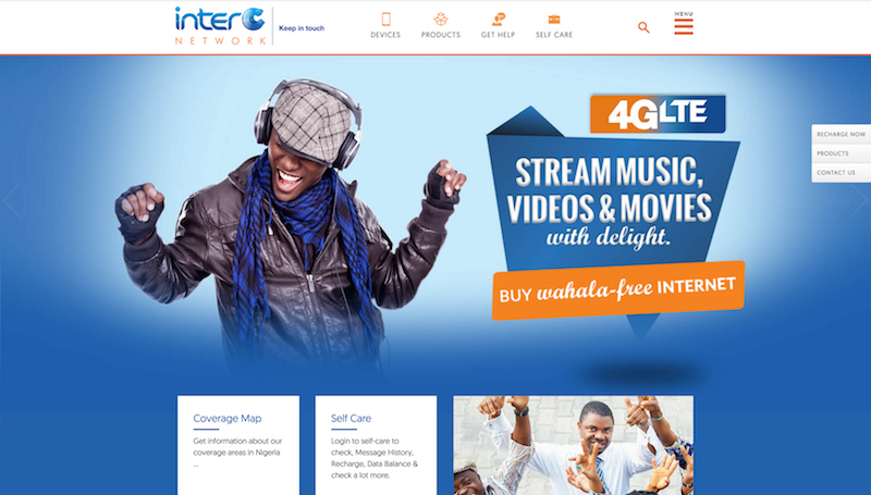 InterC is a (yet another) Nigerian 4GLTE provider launching in Nigeria today