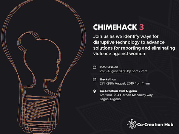 Register to attend or participate in ChimeHack 3 happening at CcHub this weekend