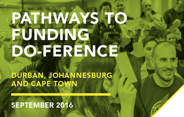 The Pathways to Funding Do-ference is returning to SA this September