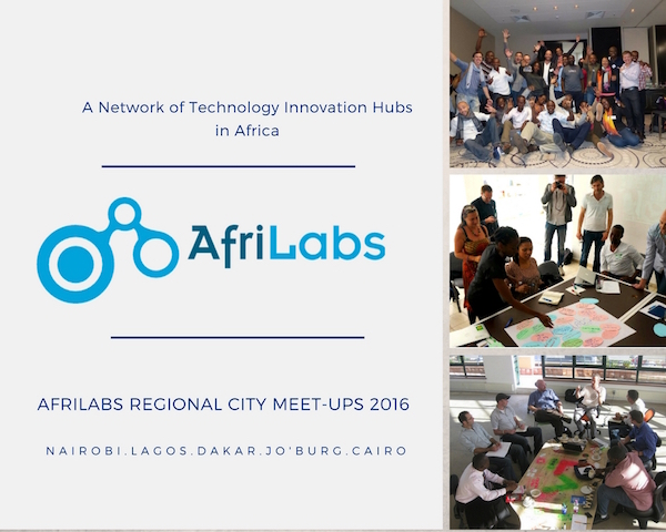 AfriLabs is organising a series of meetups in five african cities this month