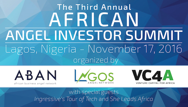 Register to attend the 2016 African Angel Investor Summit In November