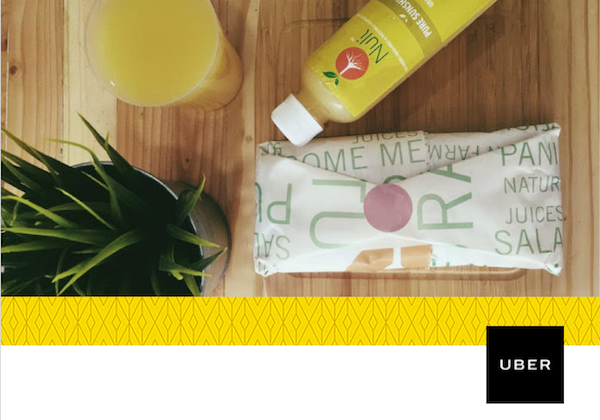 This Thursday, Uber is partnering with Nuli Juice to deliver juice to users in Lagos
