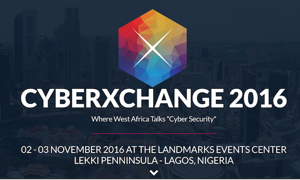 Register to attend this year's CyberXchange Conference happening in Lagos in November