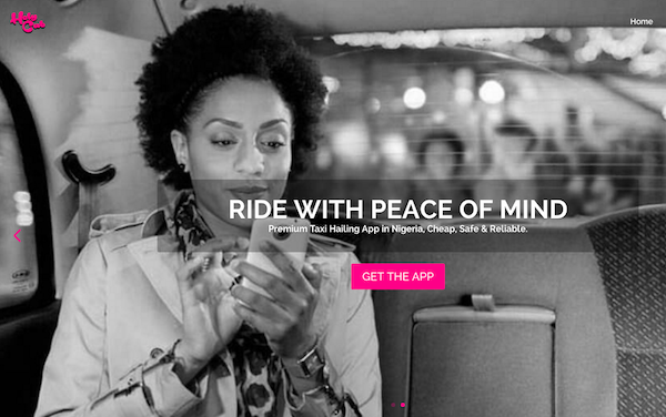 HolyCab is a new taxi app that's launching in Nigeria on October 1