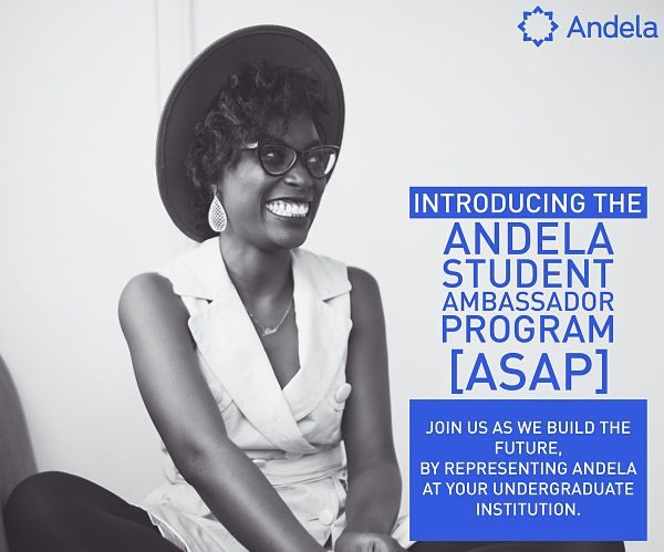 Andela just launched a Student Ambassador Program