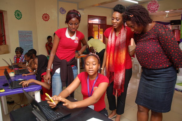 W.TEC's set up a fund-raising campaign to help 100 girls attend next year's girls' technology camp