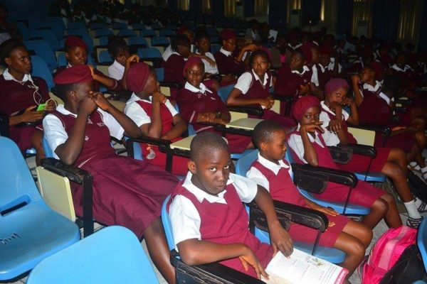 A cross section of students of Edgerly Memorial Girls Secondary School- Calabar-South