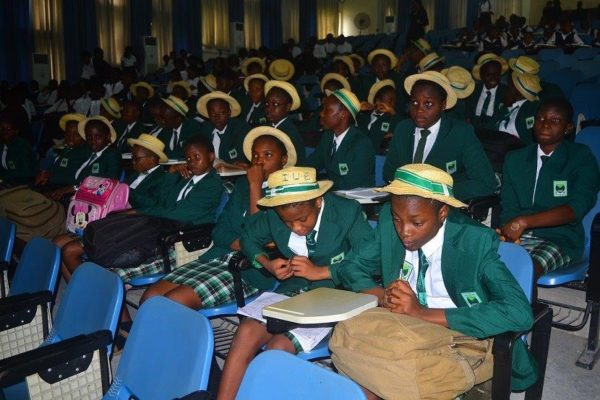 A cross section of students of Federal Government Girls College- Calabar