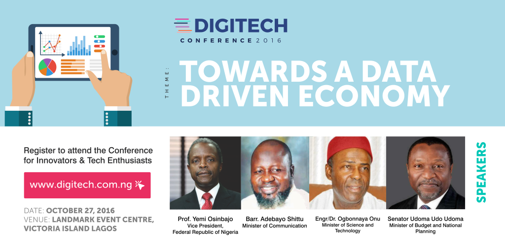 The First Digitech Conference Is Happening In Lagos This October