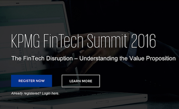 KPMG Is Organising A Fintech Summit In Lagos, And It's Happening In November