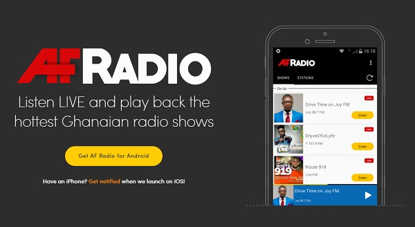 AF Radio wants to change the way you listen to radio