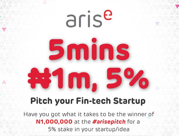 arise invest pitch