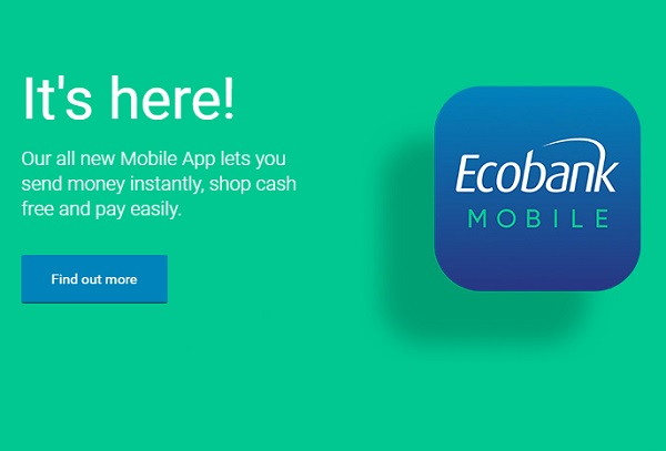 Ecobank has launched an app that will allow customers transact across 33 African countries