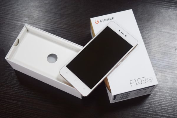 Meet all your camera needs with the Gionee F103 Pro