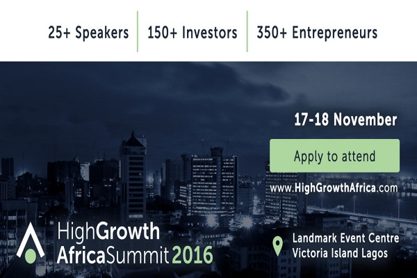 Ingressive and Starta Are Hosting The High Growth Africa Summit In Lagos This November