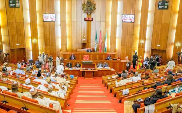 Nigeria's Senate streamed its plenary session live on Facebook for the first time today