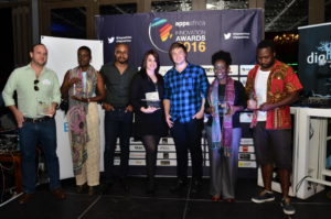 Domestly is the winner of the 2016 AppsAfrica disruptive innovation award