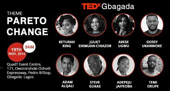 Here are the speakers that'll be at TEDx Gbagada happening tomorrow